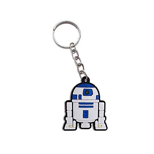 Chaveiro Emborrachado Cute Dróide R2