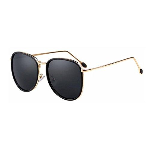 QZ Color Pink Vintage De UV HOME Negro Gafas Playa Protección Sol rqr7p8