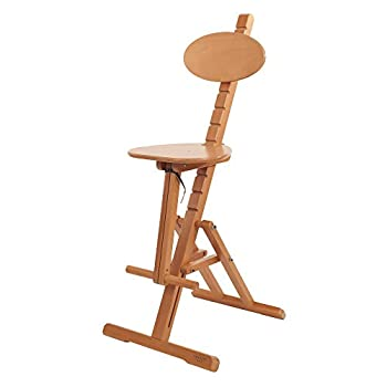 Image of Arts & Crafts Supplies Mabef Adjustable Stool (MBM-44)