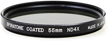Spiratone 55mm Neutral Density//ND Camera Lens Filter