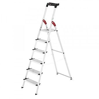 Hailo 0005257 Modelo XXL Escalera de Seguridad, Fabricada en ...