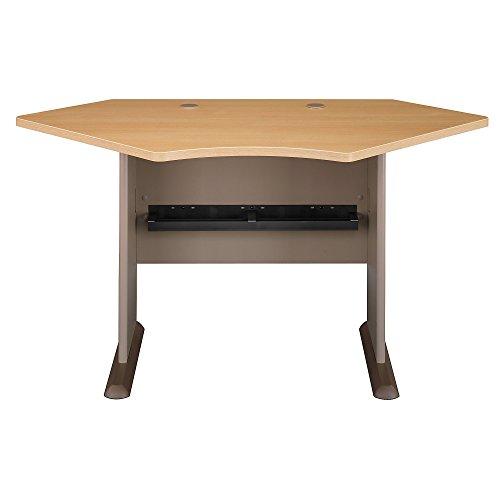 Bush Business Furniture Series A Collection 42W Corner Desk in Light ()