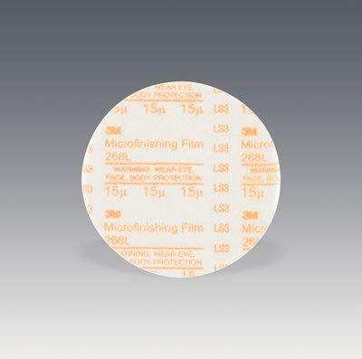 200 -PK 3M Microfinishing PSA Film Disc 268L 6 Inch x NH 15 Micron Type D Die 600Z // 7010363761