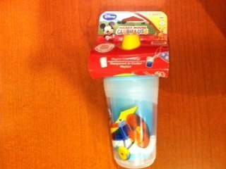 The First Years Disney Mickey Mouse Clubhouse Insulated 9 oz Sippy Cup by The First Years