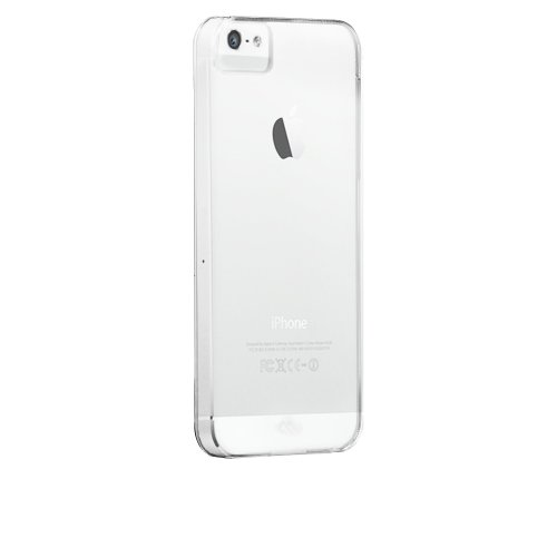 Case-Mate Barely There Case for iPhone 5/5s - Retail Packaging - Clear by Case-Mate