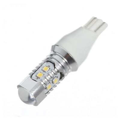 Bheema 1pc t15 10W 360lm 2323 SMD 10 LED voiture ampoule de lampe des blancs automatique