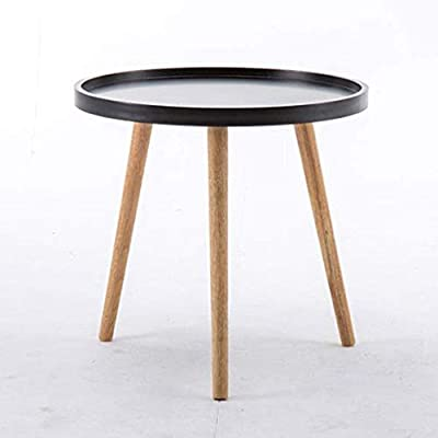 Coffee Table Side Tables Solid Wood Small Round Coffee Tea Table