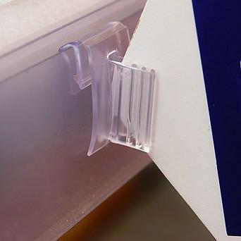 Clip basculante para stopper en portaprecios. bolsa de 100 ...