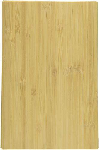 Gemini CC-WOODV Craft Material Pack-Wood Veneer Sheets with Adhesive back-15 pk Mixed Media Surface, Brown