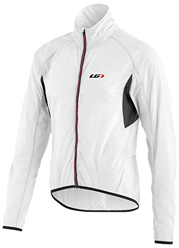 Louis Garneau Women's X-Lite Bike Jacket, White/Black, Large ()