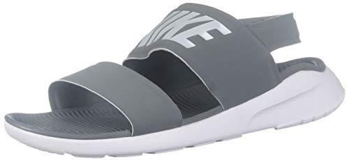 Nike Athletic Sandals - Nike Womens Tanjun Sandal Cool Grey/Pure Platinum/White 882694-002 (8 B(M) US)