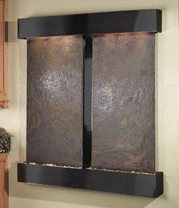 Adagio CFS1504 Cottonwood Falls - Rajah Natural Slate Wall Fountain