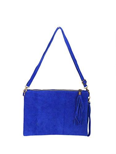 Ateliers Florentins, Poschette giorno donna blu bleuroi