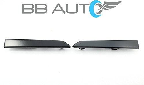 BB Auto Front Bumper Grille Under Headlight Filler Trim Panels Set Replacement for 2001-2004 TOYOTA TACOMA