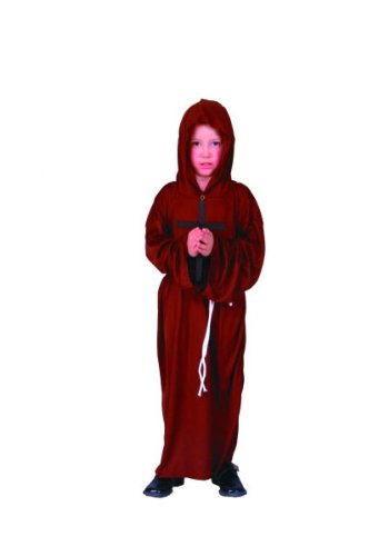 [RG Costumes Monk Costume, Child Medium] (Childrens Medieval Costumes Renaissance)