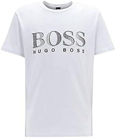 BOSS T-Shirt Rundhals UV Protection Camiseta para Hombre
