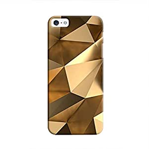 Cover It Up - Gold Angles iPhone 5c Hard Case