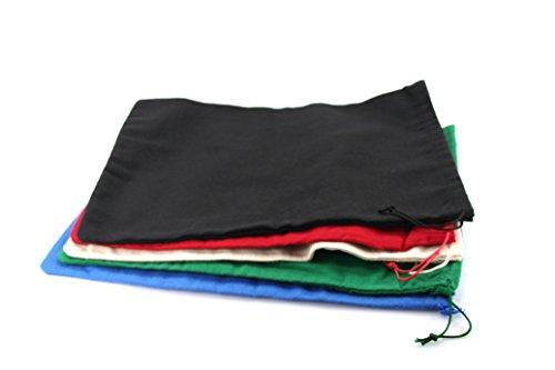 Schuhbeutel zur Aufbewahrung von Schuhen Stoffbeutel für Schuhe z1561(Schwarz)