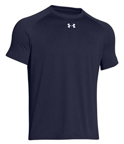 Price comparison product image Under Armour Men's Locker Short Sleeve T-Shirt,  Navy,  Medium