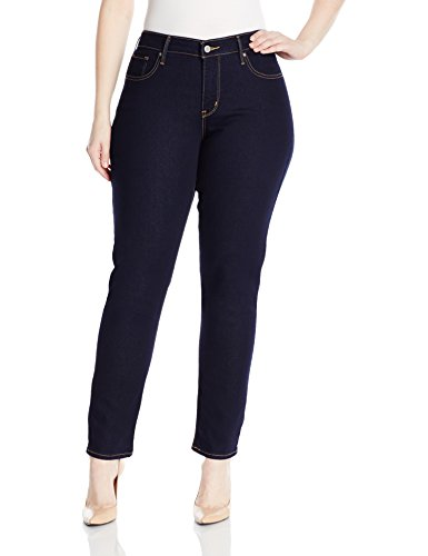 Levi's Women's Plus-Size 311 Plus Size Shaping Skinny Jean, Darkest Sky, 18 Plus Short
