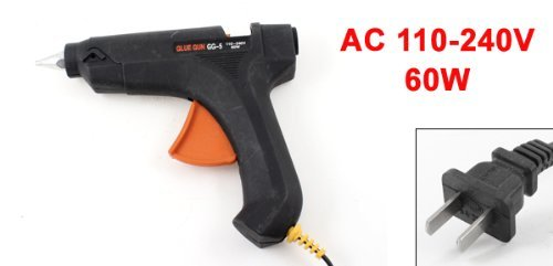 Trigger AC 110-240V 60W spina USA Riscaldamento Elettrico Melt Glue Gun by eDealMax