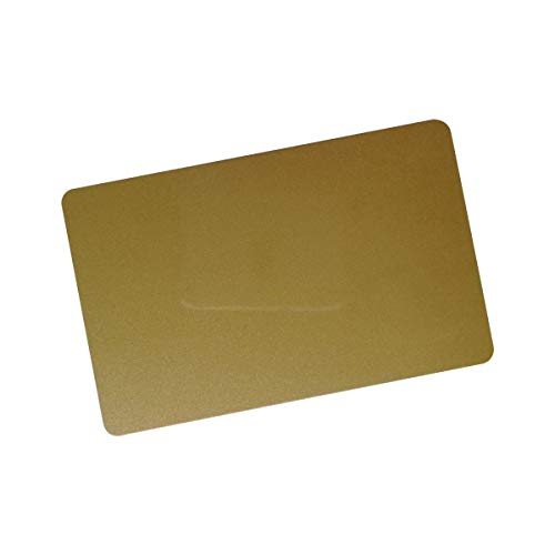 (CR80 30 Mil Graphic Quality PVC Plastic Cards Golden Color (Pack of)