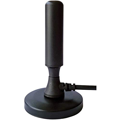 Indoor HDTV Antenna with Magnetic Base