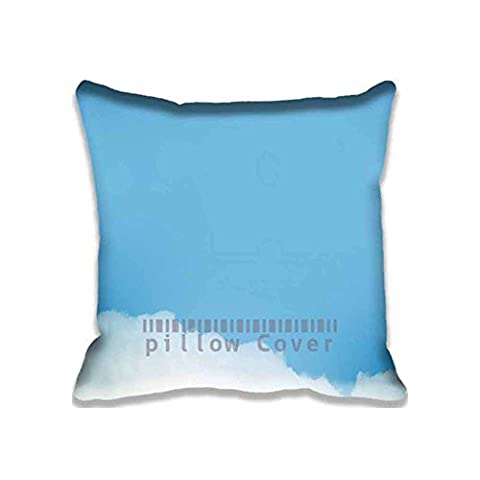 Sky Cloud Alone Square Digital Printed Cushion Cover Throw Pillow Case Pillow Sham For Decor Decorative Home Sofa Bedroom (Hot Pictures For Bedroom)