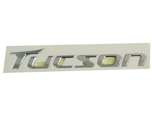 Hyundai Motors Rear Trunk Tucson Logo Emblem 1-pc Set For 2010 2011 2012 2013 Hyundai Tucson : ix35 AMHM0160