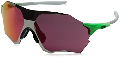 Oakley Men's Evzero Range Non-Polarized Iridium Rectangular Sunglasses, GREEN FADE, 38 ()