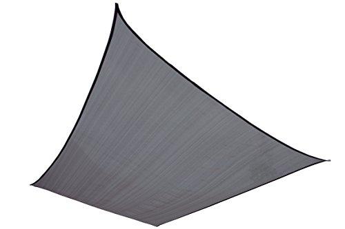 High Peak Sonnensegel Fiji Tarp, Grau, 4 x 3 m, 10022