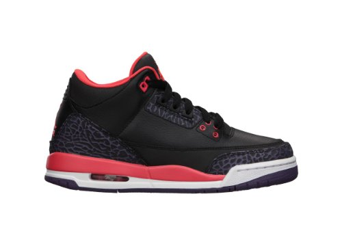 AIR JORDAN 3 RETRO Style# 398614-005-4, 4 M US Big Kid by NIKE
