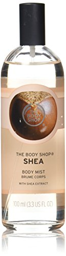 The Body Shop Shea Body Mist, Paraben-Free Body Spray, 3.3 Fl. Oz.