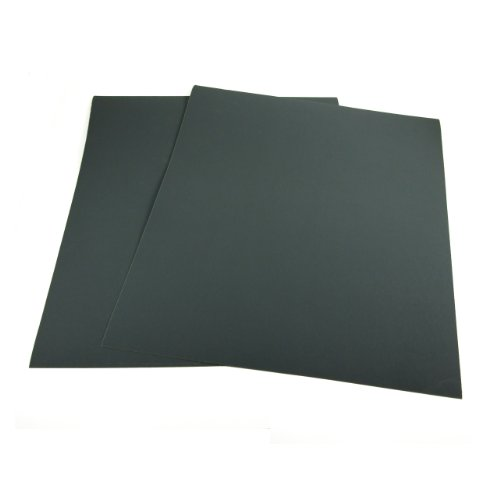 9 Inch X 11 Inch 120 Grit Waterproof Hand Sanding Sheets, 100 Pack