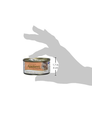 Amazon.com : Applaws Cat Tin Chicken with Mackerel in Jelly, 70 g, Pack of 24 : Pet Supplies