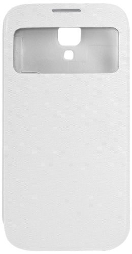 Cellet Smart View Folio Cover Case for Samsung Galaxy S4 - White