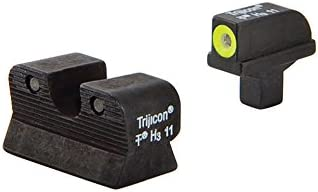 Trijicon 1911 Colt Cut HD Night Sight Set (Yellow)