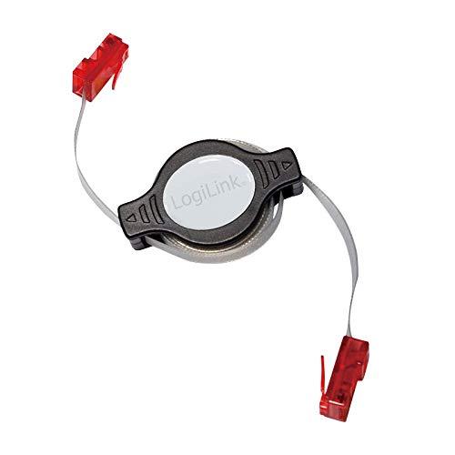 LogiLink CP1041R - Cable de Red (1,5 m, Cat5e, RJ-45, RJ-45, Gris ...