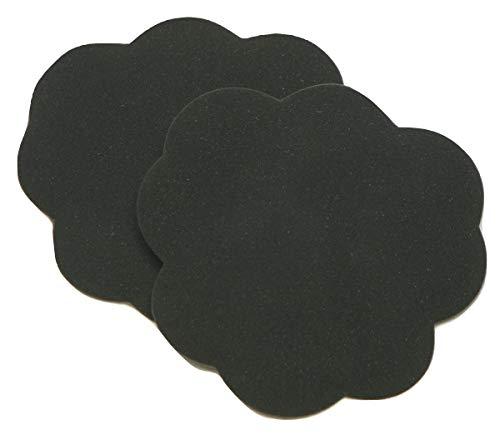 Foot Petals Tip Toes Foot Cushions-Black Iris-1 pair - Foot Petals Tip Toes Black Iris