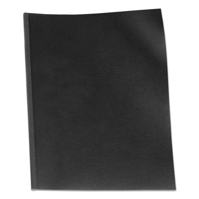 VeloBind Presentation Covers, 11 x 8-1/2, Black, 50/Pack, Sold as 2 Package