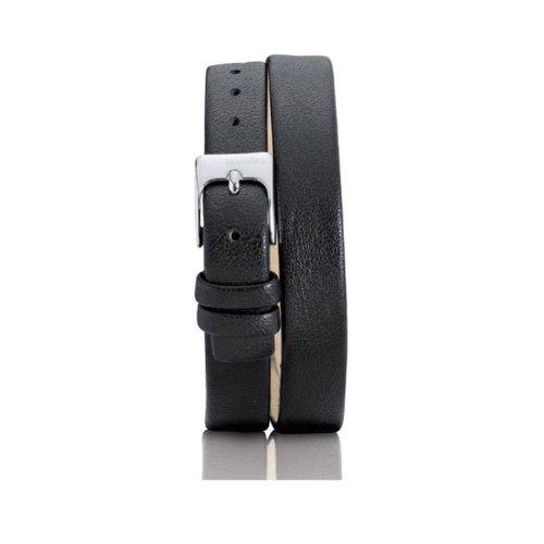 Pandora 881021BK - Correa de reloj para mujer de piel, color negro