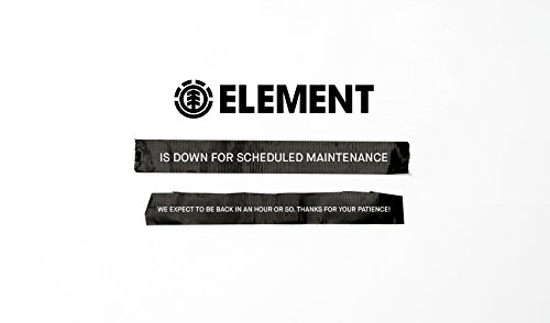 Element Men's Alder Lightweight Travel Well Jacket, Flint Black, XL by Element (Image #1)