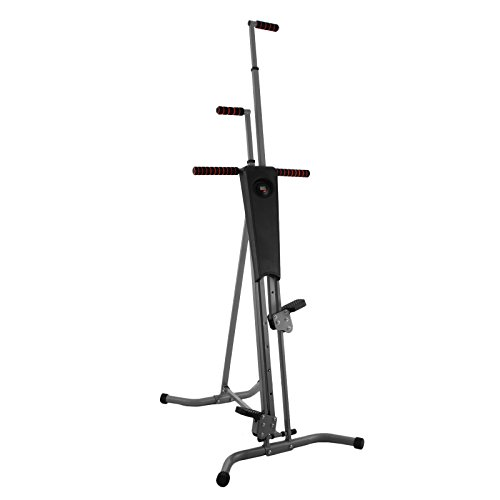 Popsport 440LBS Climber Machine Fitness Stepper Climber Exercise Equipment Vertical Climber for Home Gym Exercise Stepper Cardio Climbing System by Popsport
