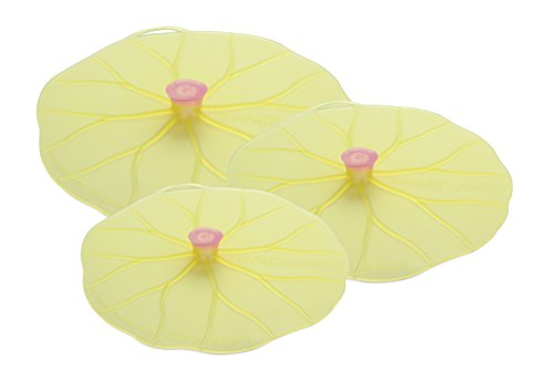 Charles Viancin Lilypad Lid Set of 3 - Large, Medium, - Lily Pots
