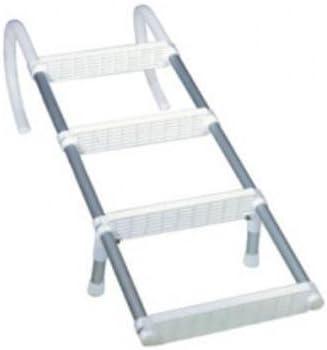 Parachini Shop - Escalera de Aluminio con 4 peldaños, Accesorios para Barco náutico: Amazon.es: Deportes y aire libre