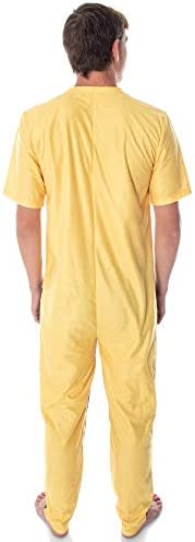 Details about  /THE OFFICE Men/'s XL DUNDER MIFFLIN Pajamaralls Union Suit Coveralls NWT