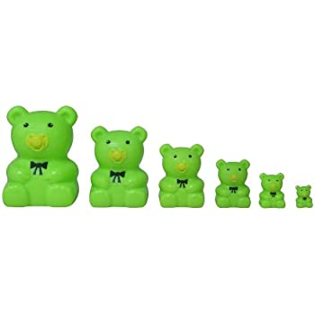Matryoshka Madness Green Teddy