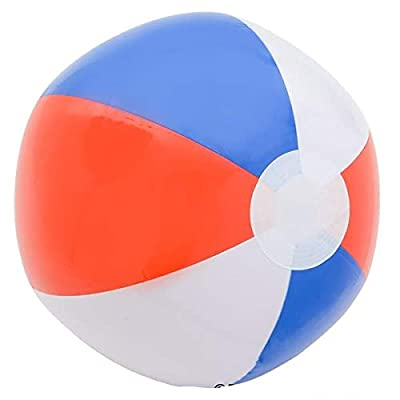 Rhode Island Novelty 16 Inch Patotic Beach Balls 12 Per Order: Sports & Outdoors