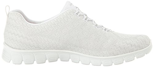 Sneakers Da Donna Skechers Ez Flex 3.0 Estrella Bianco Bianco (bianco)