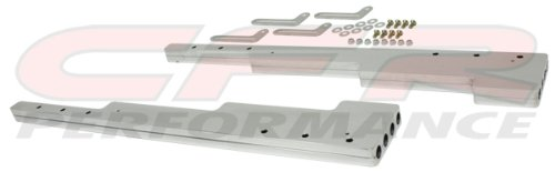 Smooth Polished Billet Aluminum Wire Loom Set - - Brackets Loom Wire